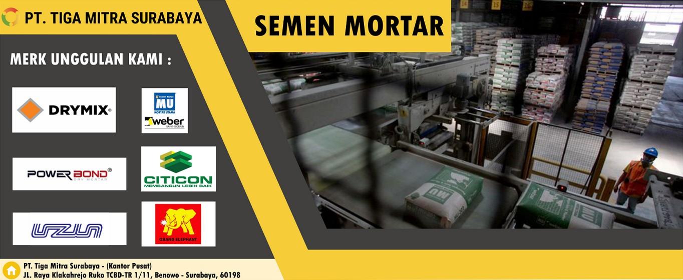 Distributor Semen Mortar Murah
